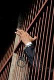 Prigioniero in prigione immagini stock libere da diritti
