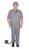 Prigioniero triste Immagini Stock