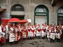 Prigorska costume national Royalty Free Stock Image