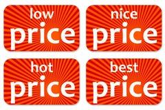 Prijzen royalty-vrije illustratie