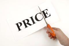 Prijzen en verkoop Stock Foto
