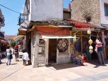 prilep македонии базара старое стоковое изображение rf