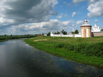prilutsky spaso μοναστηριών στοκ φωτογραφία με δικαίωμα ελεύθερης χρήσης