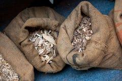 Primärt material för kulor - trä Royaltyfria Foton
