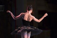 Prima ballerina dancing stock photos