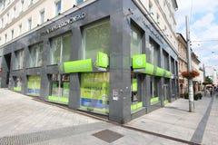 Prima Banka in Slowakei Lizenzfreies Stockbild