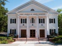 Prima chiesa dello scienziato di Cristo Immagine Stock
