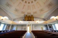 Prima chiesa di parrocchia unita, Quincy, Massachusetts Fotografie Stock
