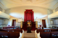 Prima chiesa di parrocchia unita, Quincy, Massachusetts Fotografia Stock Libera da Diritti