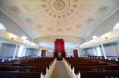 Prima chiesa di parrocchia unita, Quincy, Massachusetts Immagini Stock Libere da Diritti