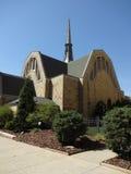 Prima chiesa presbiteriana a Winston-Salem, Nord Carolina (NC) Immagini Stock Libere da Diritti