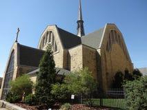 Prima chiesa presbiteriana a Winston-Salem, Nord Carolina (NC) Immagine Stock Libera da Diritti