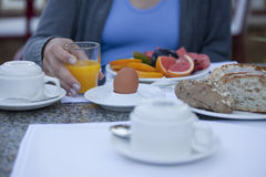 Prima colazione Immagini Stock