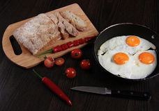 Prima colazione Immagine Stock
