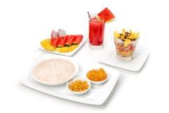 Prima colazione; Fotografia Stock