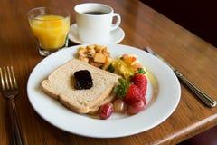 Prima colazione americana Immagine Stock
