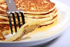 Prima colazione americana Fotografia Stock Libera da Diritti