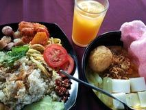 Prima colazione asiatica fotografia stock