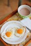 Prima colazione in base Fotografie Stock