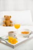 Prima colazione in base immagini stock libere da diritti