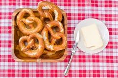 Prima colazione bavarese fotografia stock