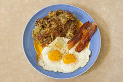 Prima colazione calorosa Fotografia Stock