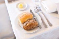 Prima colazione classica Immagine Stock