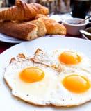 Prima colazione con caffè Fotografie Stock