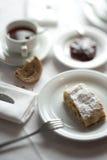 Prima colazione con strudel Fotografia Stock