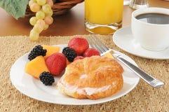 Prima colazione continentale Immagini Stock