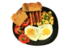 Prima colazione continentale Immagine Stock