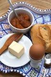 Prima colazione continentale sana Fotografia Stock
