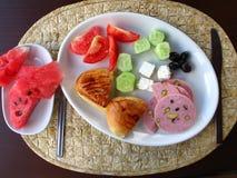 Prima colazione a Costantinopoli immagine stock