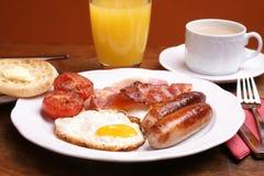 Prima colazione cucinata Fotografie Stock