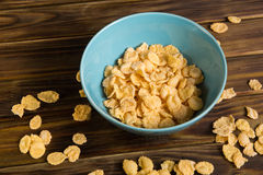 Prima colazione dei fiocchi di mais Immagine Stock Libera da Diritti