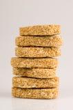 Prima colazione del biscotto del frumento Fotografia Stock Libera da Diritti