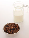 Prima colazione del cereale Fotografia Stock