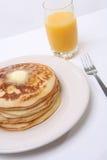 Prima colazione del pancake Immagine Stock