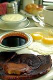 Prima colazione del prosciutto del paese Fotografia Stock Libera da Diritti