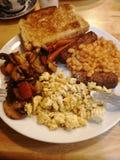 prima colazione del vegano immagine stock