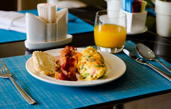 Prima colazione dell'hotel Fotografia Stock Libera da Diritti