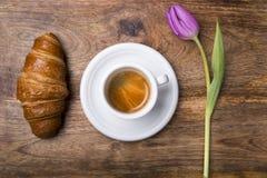 Prima colazione della primavera Immagini Stock