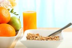Tabella di prima colazione Immagini Stock