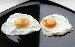 Prima colazione delle uova Fotografia Stock
