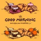 Prima colazione di Delicios Immagine Stock