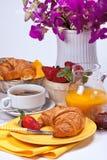 Prima colazione di domenica. Fotografia Stock