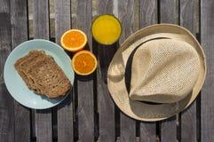Prima colazione di estate Fotografia Stock Libera da Diritti