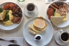 Prima colazione di mattine Fotografie Stock