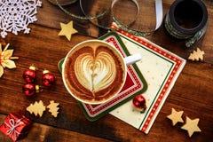 Prima colazione di Natale Fotografia Stock Libera da Diritti