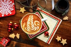 Prima colazione di Natale Immagine Stock Libera da Diritti
